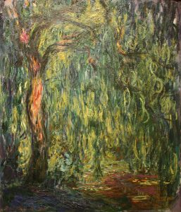 513px-Claude_Monet_-_Weeping_Willow_(1918)